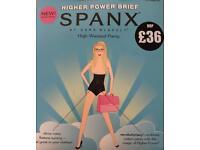 WHOLESALE JOB LOT OF GENUINE BRAND NEW SPANX HIGHER POWER BRIEFS X 20
