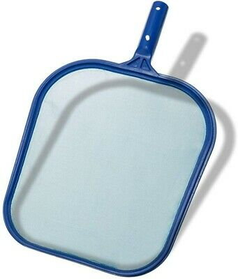Leaf Skimmer Net Swimming Pool Cleaner Supplies Pool Leaf Rake Fine Mesh Frame