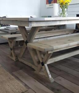 Get ready for  Christmas! Rustic and Contemporary Dining Tables from  $500! 20% Off in all pieces.