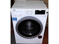 beko 8kg washer dryer in white colour