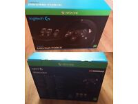 Logitech G920 Driving Force Steering Wheel - Xbox One & PC - Boxed Like New - £100