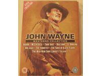 THE JOHN WAYNE WESTERNS COLLECTION. 9 DVD'S