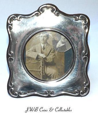 Antique Edwardian Silver Photo Frame Hallmarked Birmingham 1906