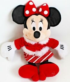 """18"""" Large Disney Minnie Mouse Soft Toy 2010"""