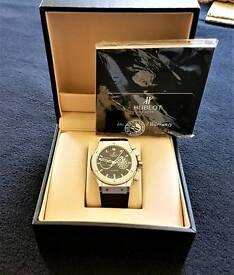 Men's hublot big bang watch.