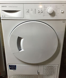 Beko DCU8230 8kg Sensor Drying Condenser Tumble Dryer 1 YEAR GUARANTEE