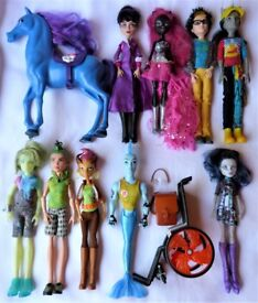 Gilda, Catty, Deuce etc Monster High Dolls Ind Priced from £5