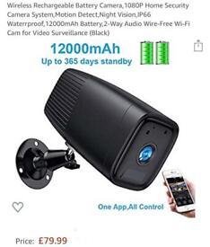 Bluetooth speakers with Spy WiFi Camera | in Port Glasgow
