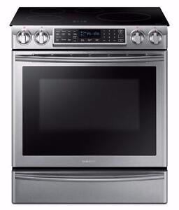 Cuisinière à induction 30'', encastrable, Acier inoxydable, Samsung