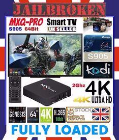 FREE MOVIES SPORTS FOOTBALL Fully Loaded TV BOX Quad Core Mobdro Kodi 16 XBMC Android Internet TV