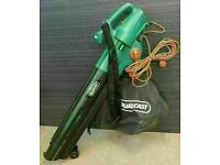 Qualcast Electric 2800W Garden Leaf Blower & Vacuum & Mulch Hardly Used VGC