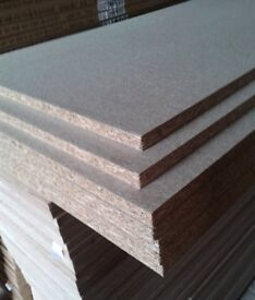 10 Pieces of NEW 18mm x 48in x 16in (1220mm x 400mm) High Density P2 Commercial Chipboard