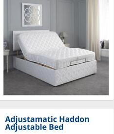 Adjustimatic single bed- mobility bed - pristine condition