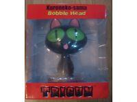 Trigun Kuroneko-sama Bobble head figure is still in the box in great condition