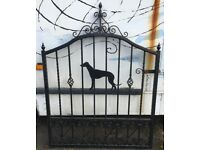HAND MADE IRON GATE FOR SALE