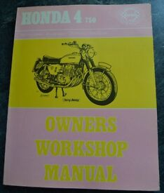 Haynes Owners Workshop Manual for the 4 cylinder Honda CB750