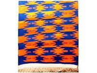 New Hand-made double sided cotton rug