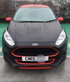 2015 (15) Ford Fiesta 1.0T EcoBoost, Black Edition (140ps). LOW TAX!
