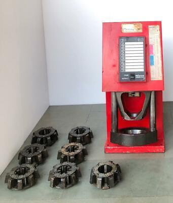Aeroquip Procrimp 1380 Electric Hydraulic Hose Crimping Crimper With 7 Die Set