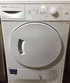 Beko DSC85 8kg White Sensor Drying Condenser Tumble Dryer 1 YEAR GUARANTEE