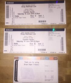 2x Doug Stanhope tickets London 16th June 2018