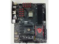 Intel I5-4690K processor + MSI Z97 GAMING 7 motherboard