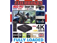 KODI MOBDRO Smart 4K Android TV Box FREE Movies UK Football Sports FULLY LOADED Latest Version NEW