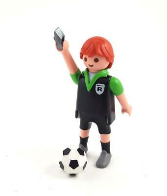 REFEREE FOOTBALL PLAYER / Sport Team Player Footballer Soccer Figure Playmobil