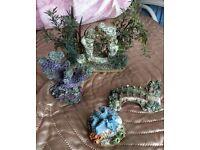 4 x Aquarium Decoration High Quality Coral Bridge Tree