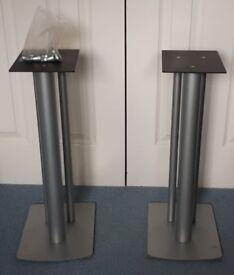 Speaker stands floor spikes included 56x23x31cm(HxWxD)