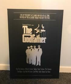 Godfather printed canvas