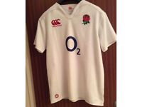 England Rugby Shirt XL . Brand new & never worn only taken out of bag to take photo