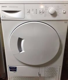 66 Beko DSC85W 8kg White Sensor Dry Condenser Tumble Dryer 1 YEAR GUARANTEE FREE DELIVERY