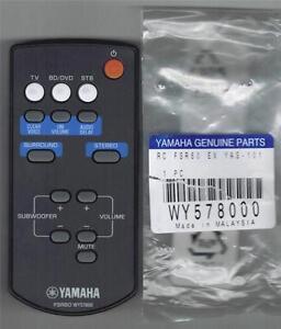 New yamaha soundbar remote control fsr60 wy57800 yas 101 for Yamaha ats 1030 soundbar review