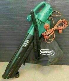 Qualcast Electric 2800W Garden Leaf Blower & Vacuum & Mulch Hardly Used Cost £145 VGC