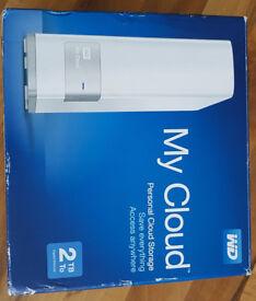 Western Digital My Cloud 2TB External Desktop Hard Drive
