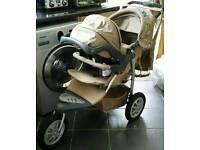 Mothercare urban detour pinnacle 3 wheeler pushchair/pram