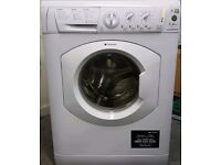 White hotpoint 7kg load 1400 spin A++ class washing machine excellent condition