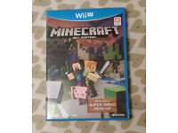 wii u minecraft less than a day old