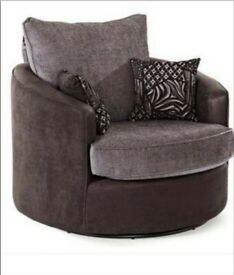 Chair Swivel and Footstool Brand New Twister ☆☆☆☆☆