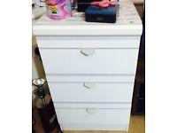 3 draw cabinet