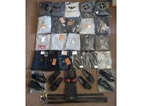 Men's Jeans, Belts, Tracksuits, Shoes, Slides - True Religion, Stone Island, Armani, Prada, Versace