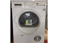 Siemens E46.38 7kg White LCD Sensor Condenser Dryer Reverse Action 1 YEAR GUARANTEE FREE DELIVERY