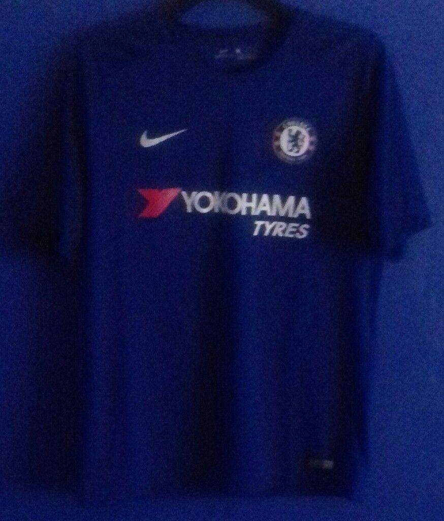 206680dc473 Nike Chelsea 2017 18 Home Football Shirt