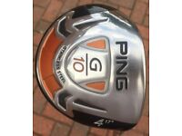 Ping G10 hybrid 17 degree with regular shaft