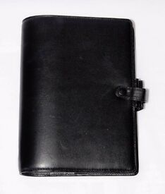 Filofax Cavendish Deluxe Leather Personal Organiser Rare Sought After
