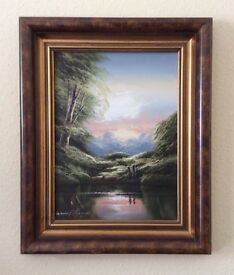 Original signed oil painting by David James
