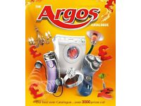 WANTED - Argos catalogue page scans