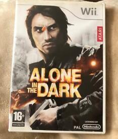 2 Wii Games Alone in the Dark/Golden Compass