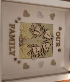Family box frames